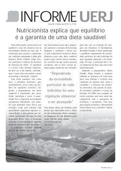 Informe UERJ<br>Edição Nº 95