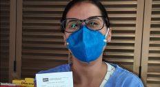 Profissionais do complexo de saúde da Uerj que atuam na linha de frente da Covid-19 começam a ser vacinados